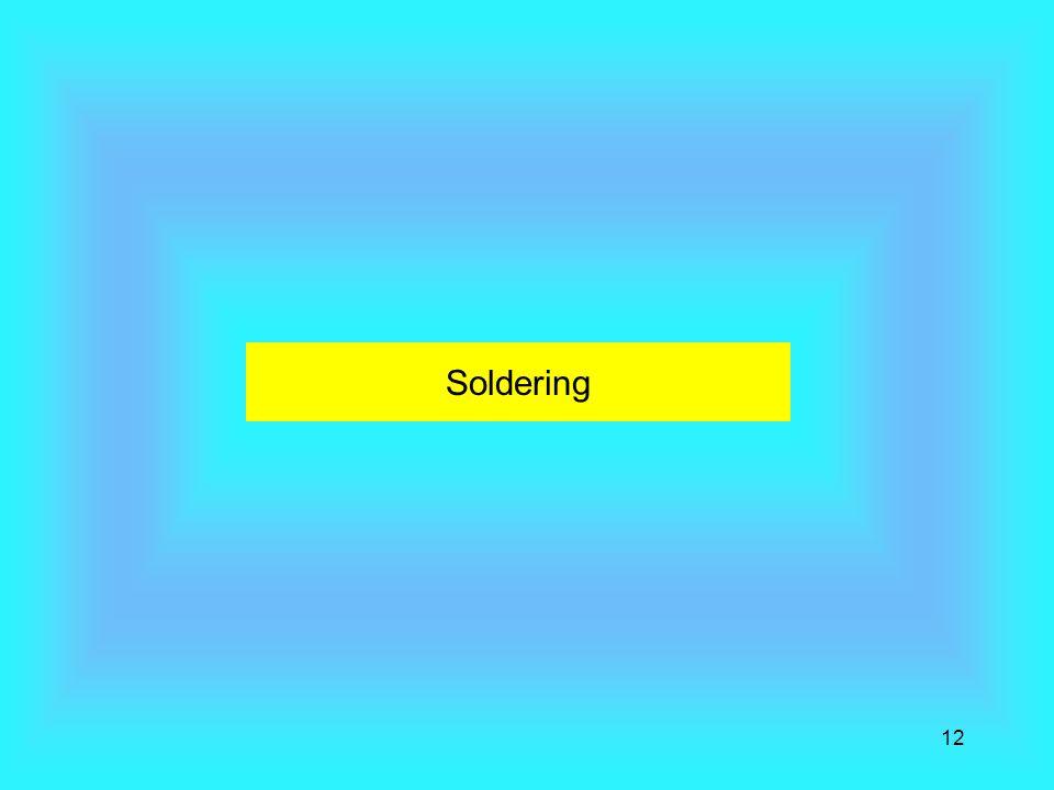 Soldering 12