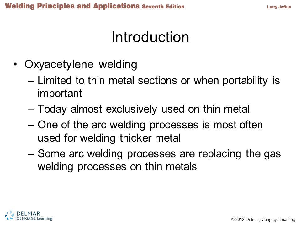 © 2012 Delmar, Cengage Learning FIGURE 32-1 Gas metal arc welded (GMAW) on 16-gauge mild steel.