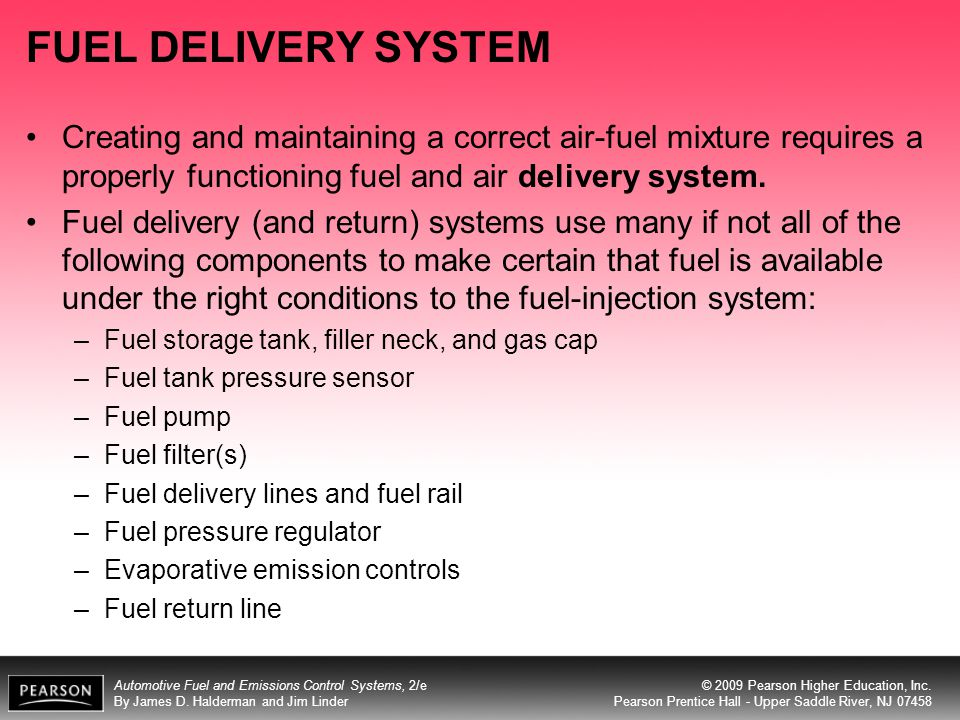 Automotive Fuel and Emissions Control Systems, 2/e By James D.