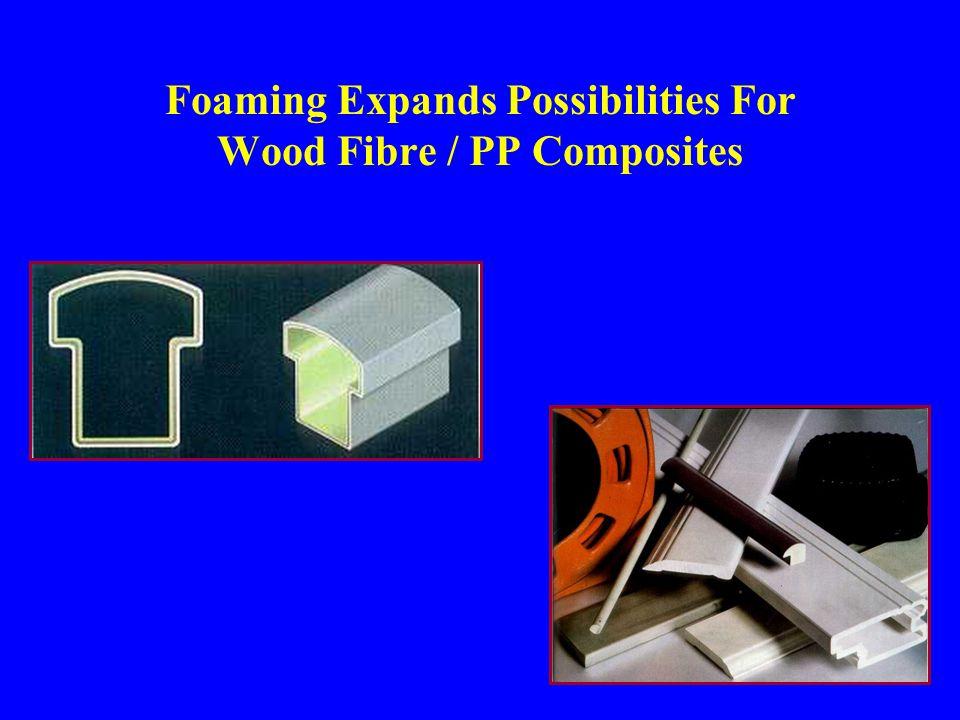 Foaming Expands Possibilities For Wood Fibre / PP Composites