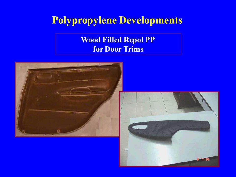 Polypropylene Developments Wood Filled Repol PP for Door Trims