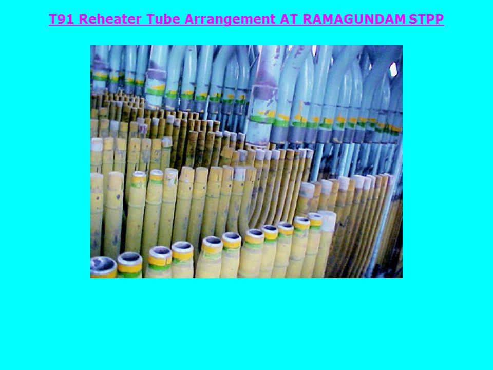 T91 Reheater Tube Arrangement AT RAMAGUNDAM STPP