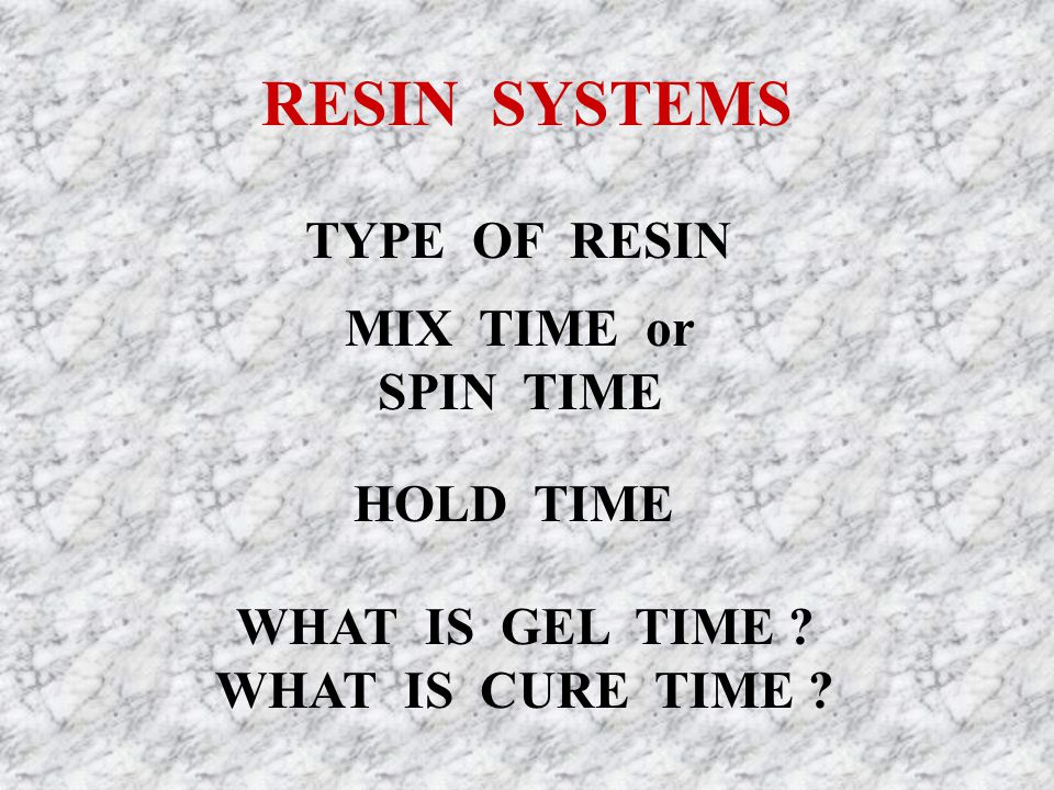 WHAT GEL TIME .GEL TIME IS THE TIME IT TAKES RESIN TO REACH A PASTE, OR SEMISOLID STATE.