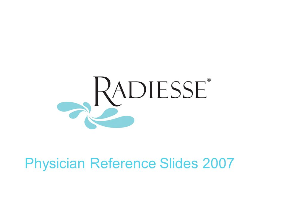 Physician Reference Slides 2007