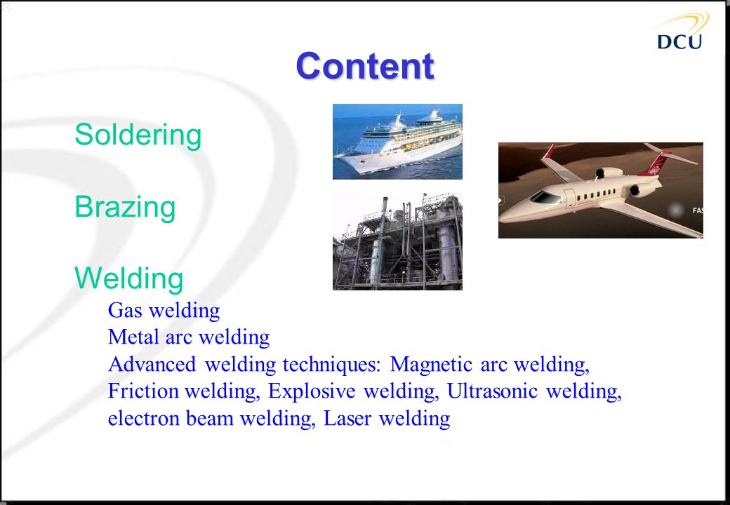Risk involved in arc welding 1.Exposure to radiation 2.