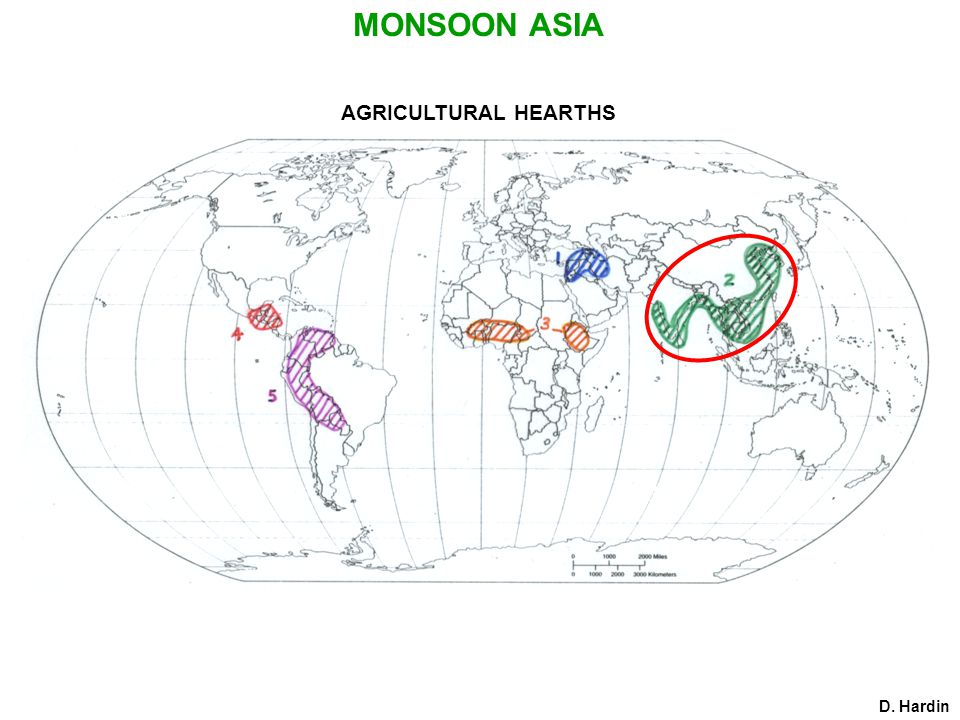 AGRICULTURAL HEARTHS D. Hardin MONSOON ASIA