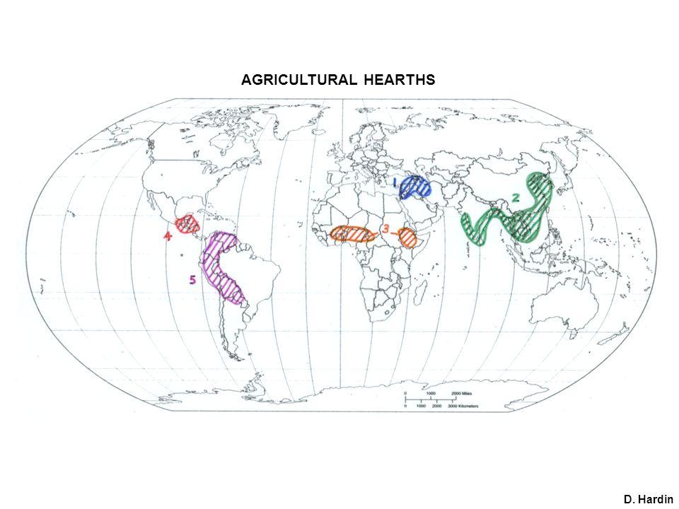 AGRICULTURAL HEARTHS D. Hardin