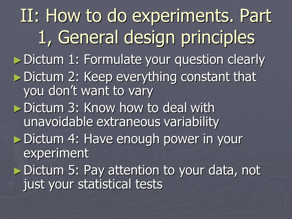 Goals of Course ► Why should linguists do experiments.
