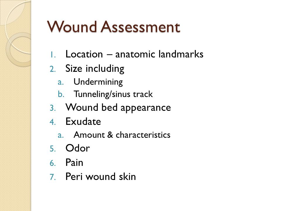 References Bryant, R., Nix, D.Acute and Chronic Wounds.