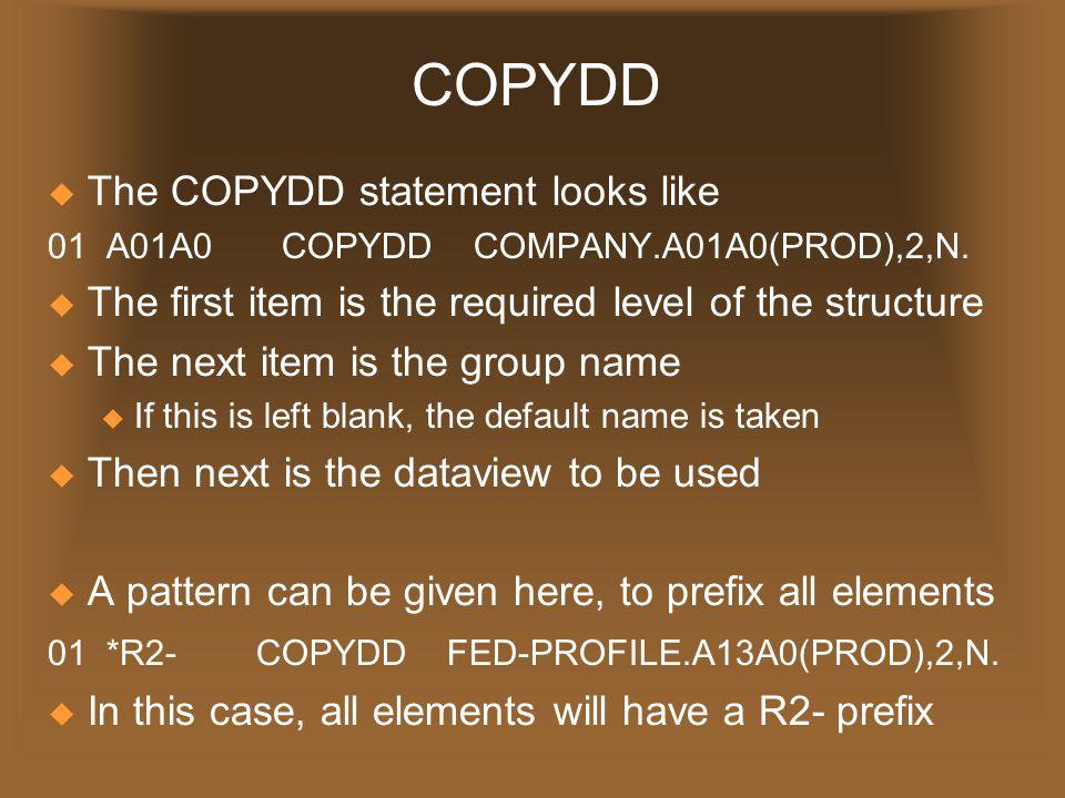 Datacom Commands CommandDescription DELETDelete Record GETITRetrieve Next Sequential Record GETPSGet Next Physical Sequential Record GSETLSet To Starting Key GSETPSet Physical Sequential Record INQINInquire CA