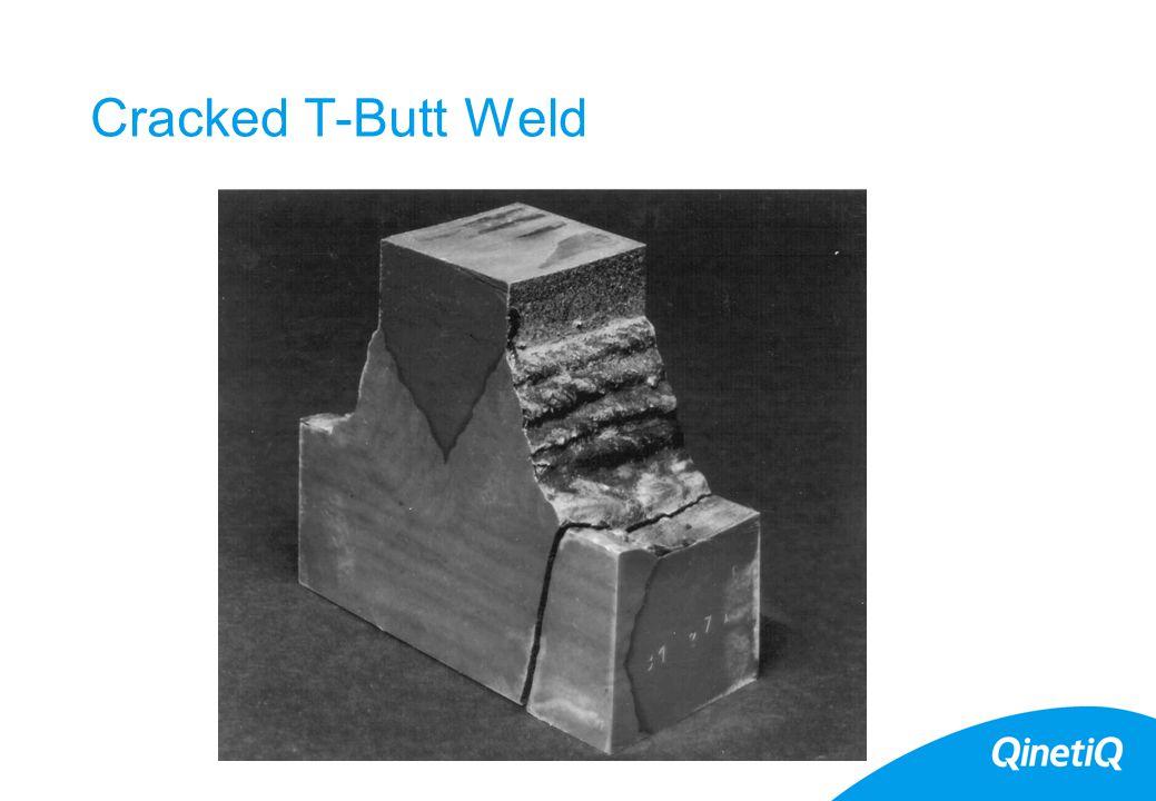 6 Cracked T-Butt Weld