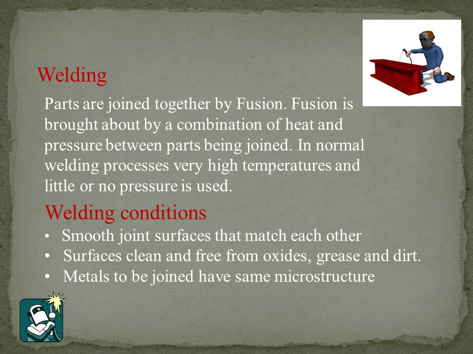 Advantages Superior quality welding Can be used in mechanised systems Used to weld aluminium and stainless steels Low distortion
