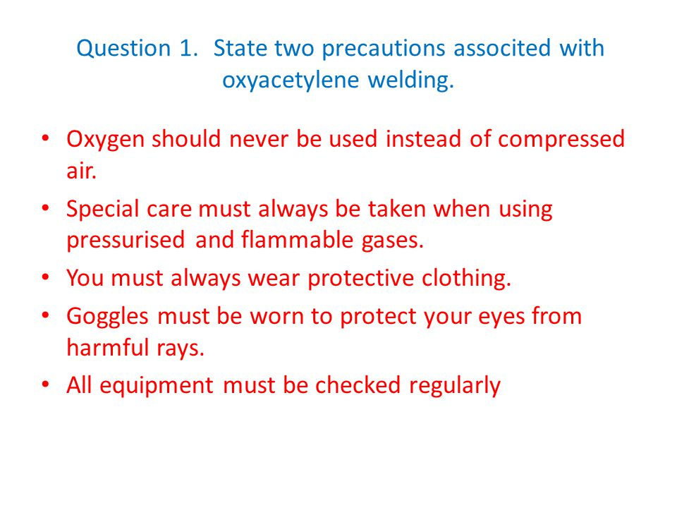 Question 20.Describe the following defects and suggest a remedy in each case.