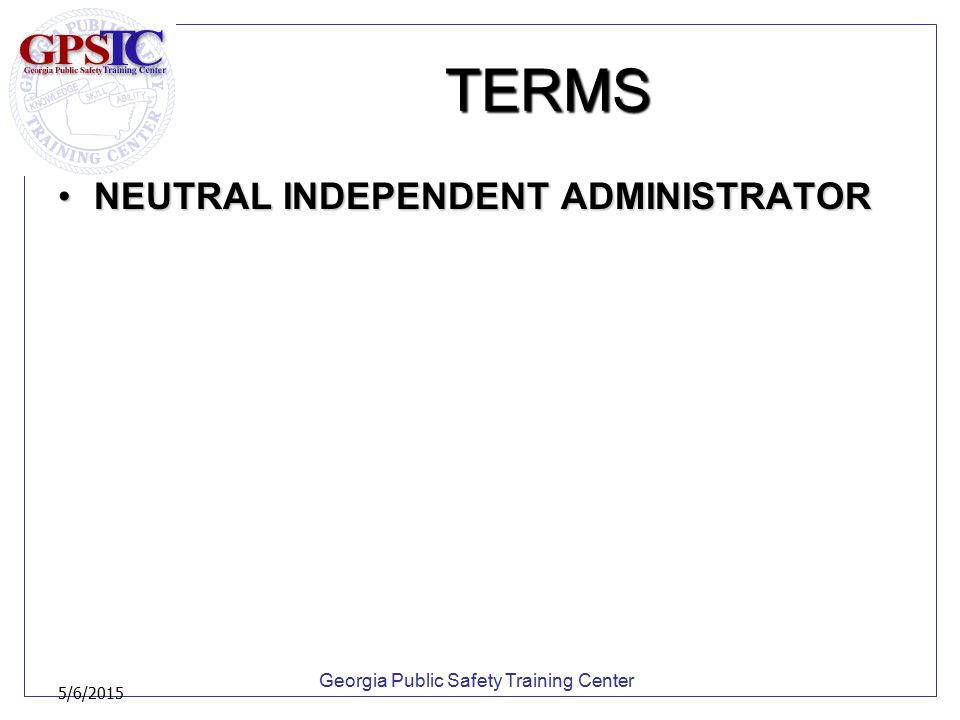Georgia Public Safety Training Center 5/6/2015 PRESENTATION Physical lineupsPhysical lineups –If an identification is made, advise the witness to give feedback in his/her own words regarding his/her level of confidence at the time of the identification