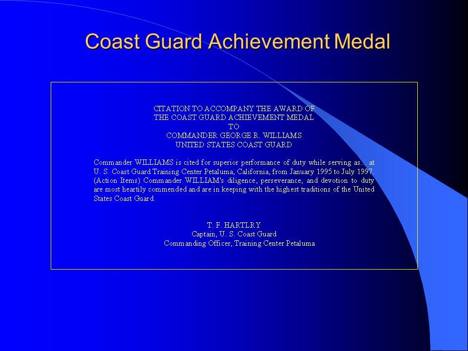 Coast Guard Achievement Medal