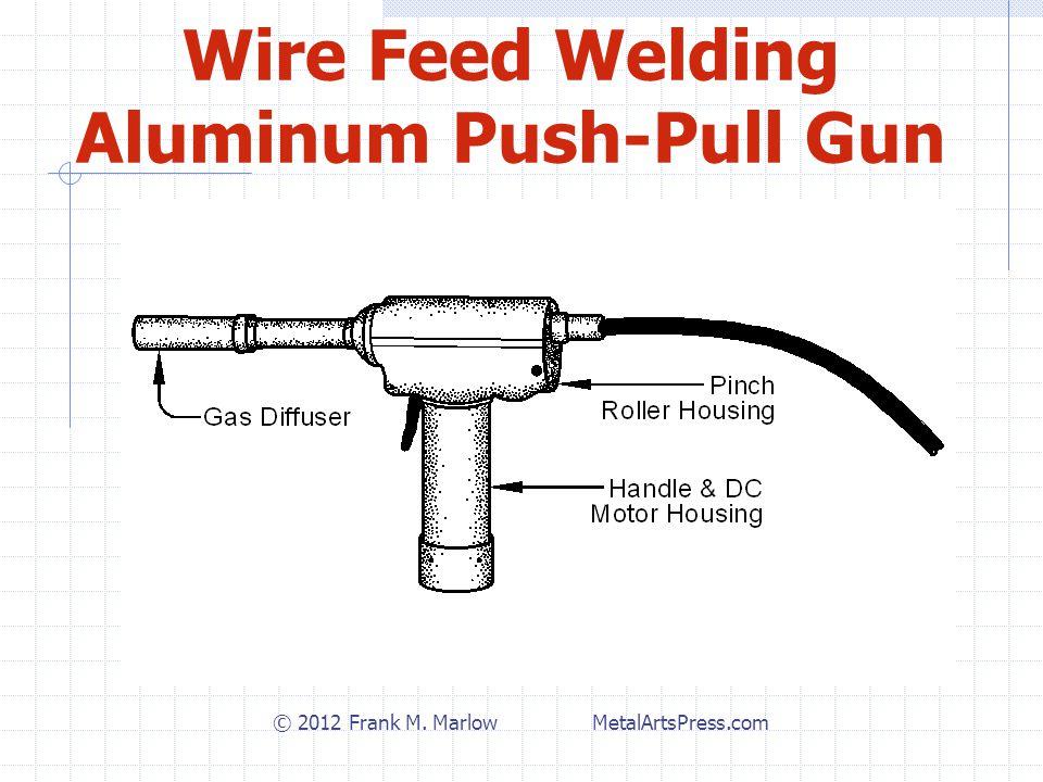 Wire Feed Welding Aluminum Push-Pull Gun © 2012 Frank M. Marlow MetalArtsPress.com