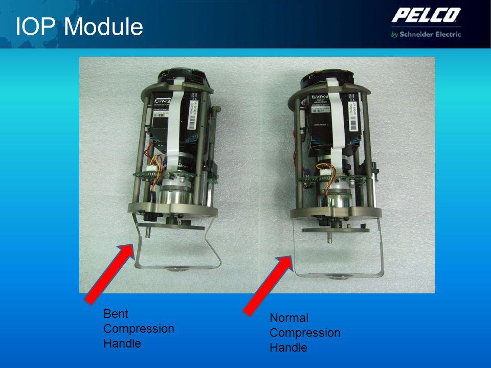 IOP Module Bent Compression Handle Normal Compression Handle