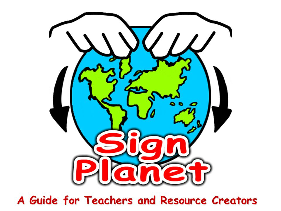 A Guide for Teachers and Resource Creators