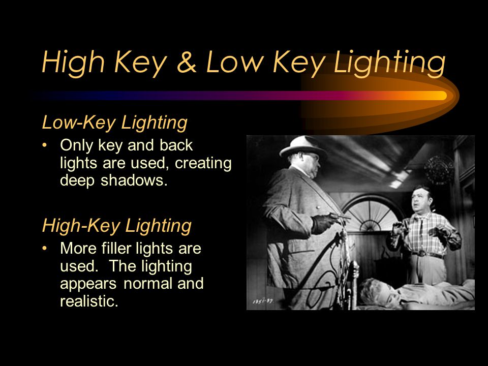 Sources of Lighting Key Light Usually the brightest Back Light Fills in the back, helping make the object look more 'rounded' Filler Light Helps soften harsh shadows.