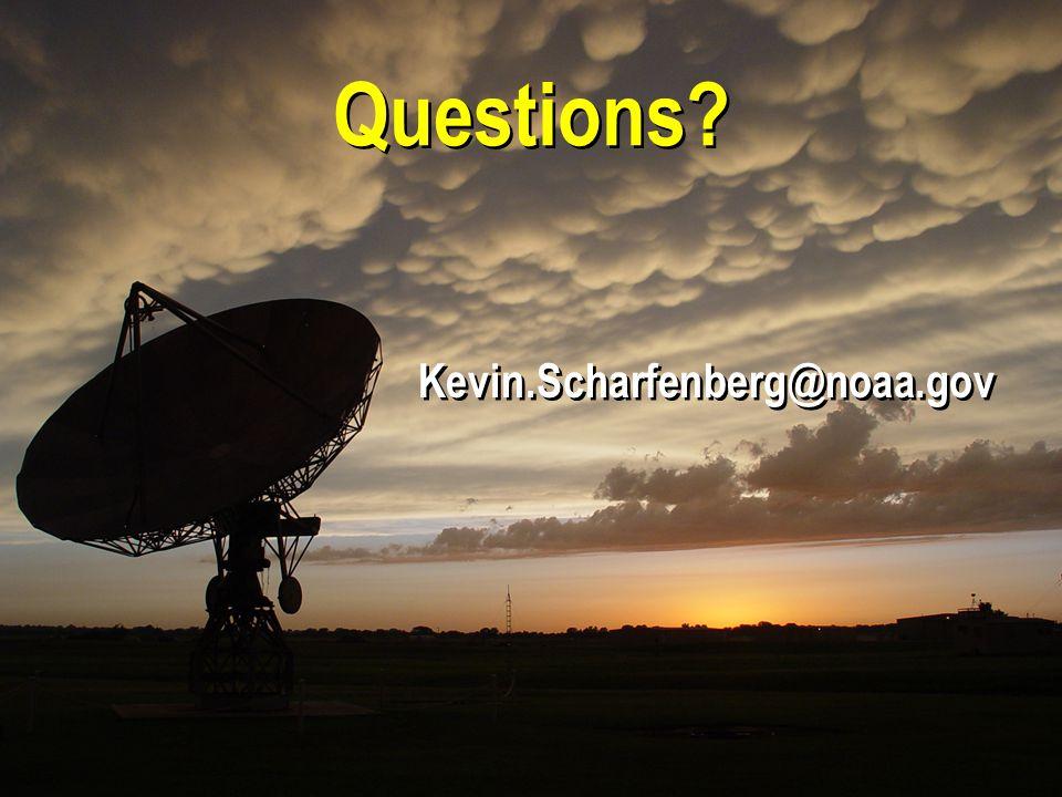 21 September 2007 4 th Southwest Hydrometeorology Symposium, Tucson, AZ Questions.