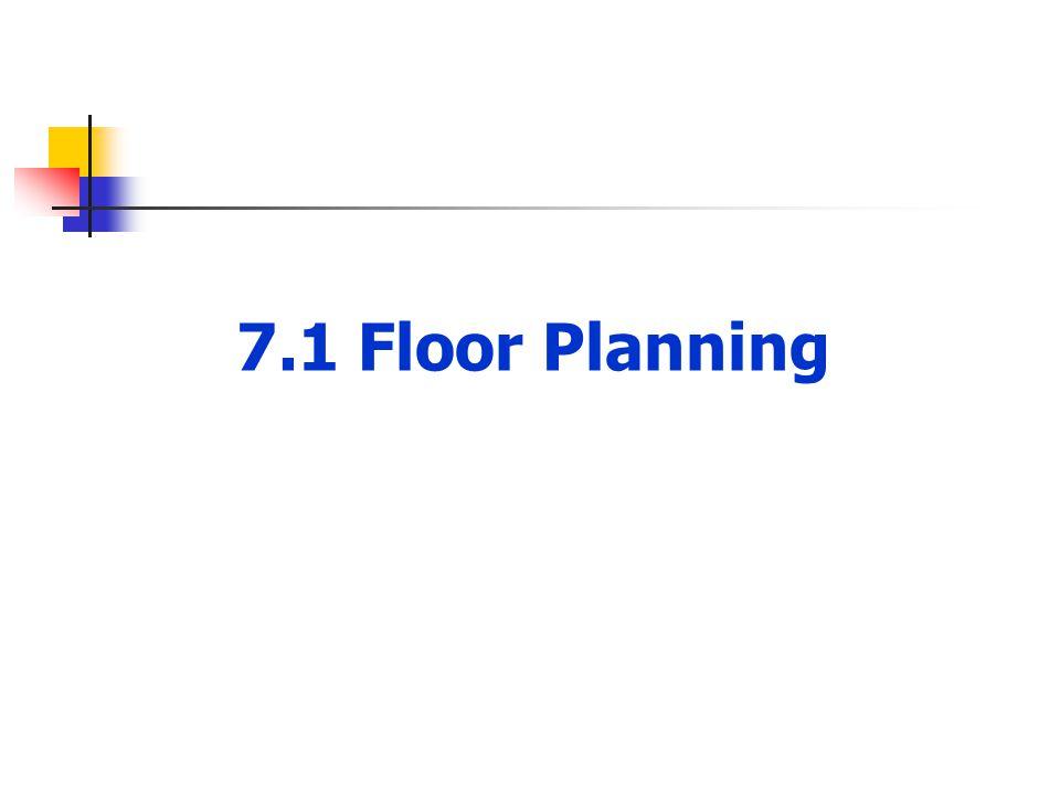 7.1 Floor Planning