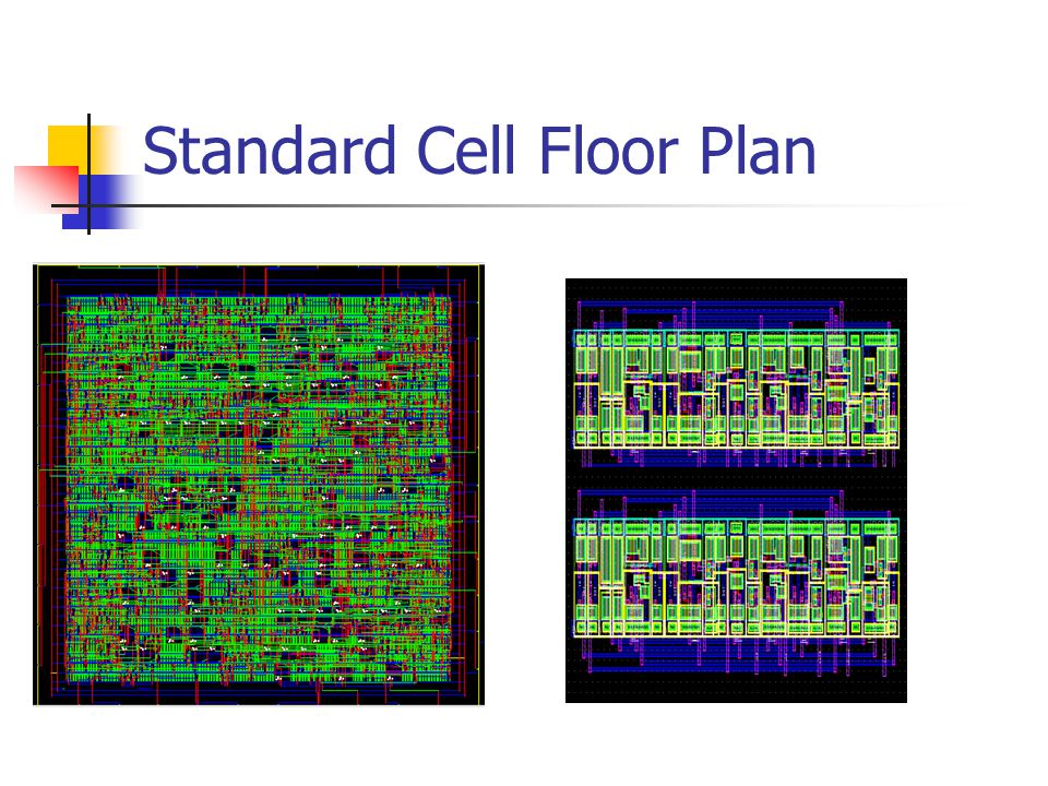 Standard Cell Floor Plan