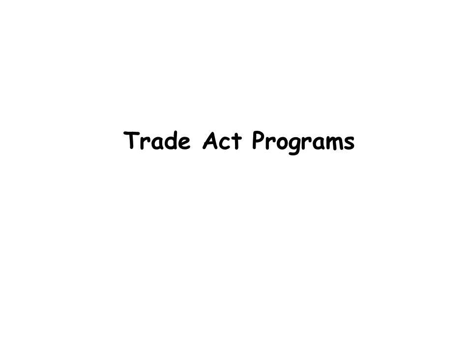 Trade Act Programs