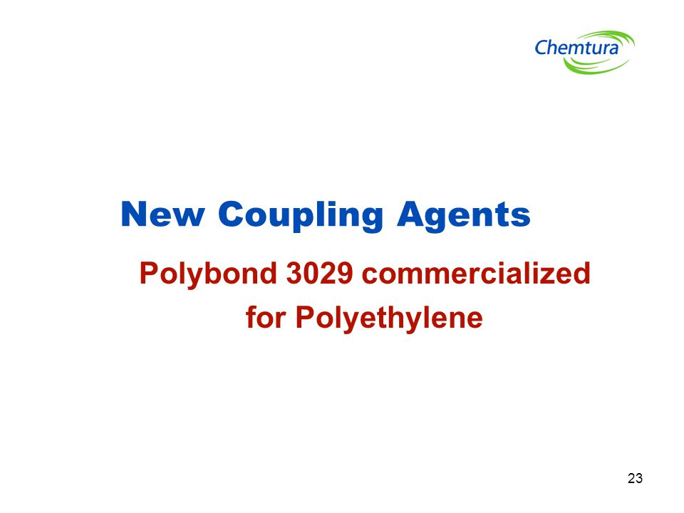 23 New Coupling Agents Polybond 3029 commercialized for Polyethylene