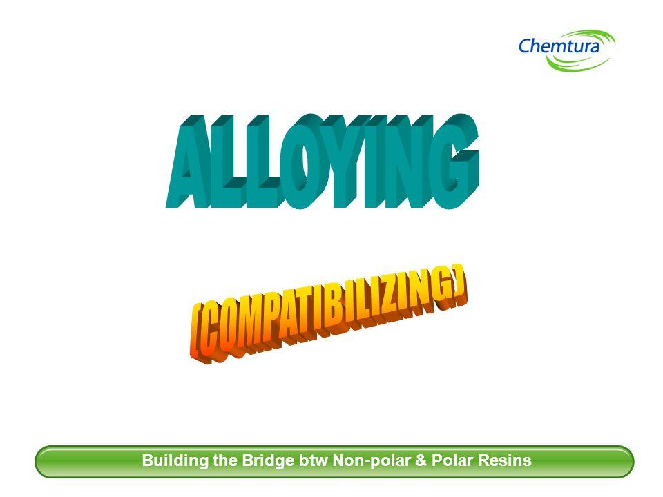 27 Building the Bridge btw Non-polar & Polar Resins