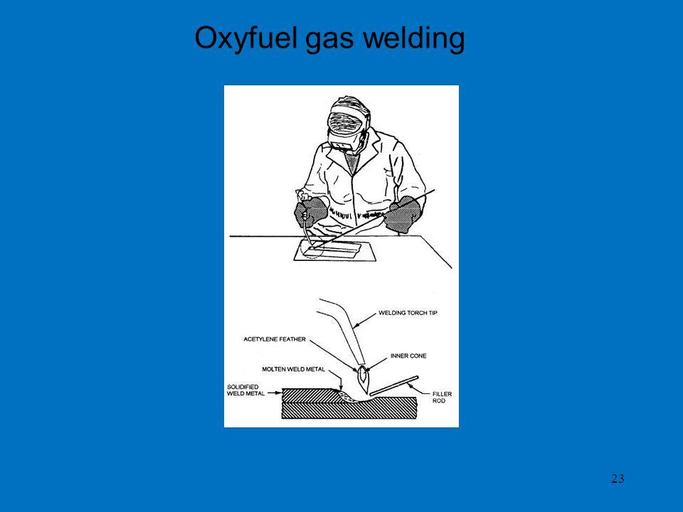 23 Oxyfuel gas welding