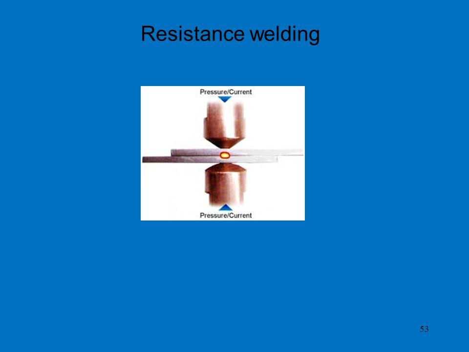 53 Resistance welding