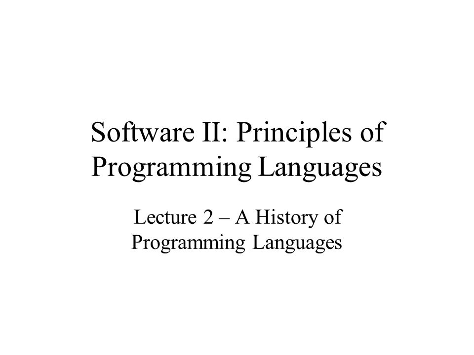 A Program in PL/I /* PL/I PROGRAM EXAMPLE INPUT: AN INTEGER, LISTLEN, WHERE LISTLEN IS LESS THAN 100, FOLLOWED BY LISTLEN-INTEGER VALUES OUTPUT:THE NUMBER OF INPUT VALUES THAT ARE GREATER THAN THE AVERAGE OF ALL INPUT VALUES */ PLIEX: PROCEDURE OPTIONS(MAIN); DECLARE INTLIST(1:99) FIXED; DCL (LISTLEN, COUNTER, SUM, AVERAGE, RESULT) FIXED; RESULT = 0 SUM = 0 GET LIST (LISTLEN); IF (LISTLEN > 0 & LISTLEN< 100) THEN DO; /*READ INPUT DATA INTO AN ARRAY AND COMPUTE ITS SUM */ DO COUNTER = 1 TO LISTLEN; GET LIST (INTLIST(COUNTER)); SUM = SUM + INTLIST(COUNTER); END;