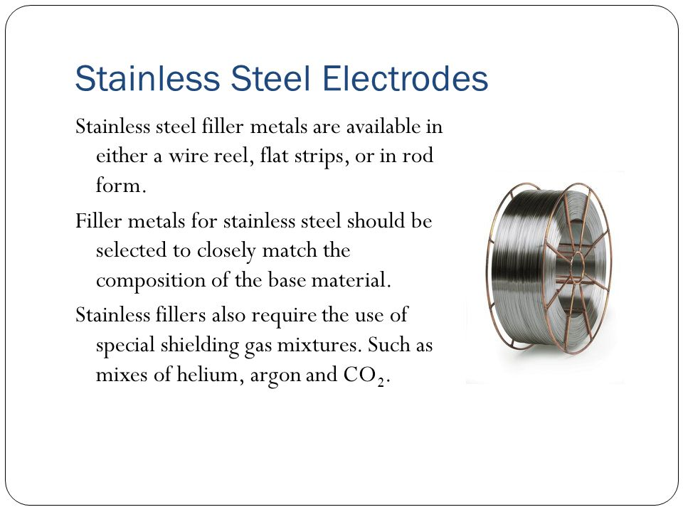 Aluminum electrodes The most widely used aluminum filler metals are ER4043 and ER5356.