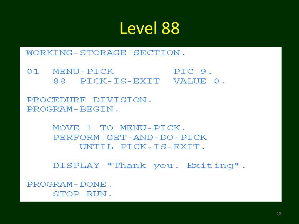 Level 88 26