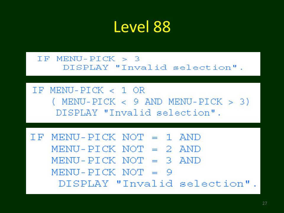 Level 88 27