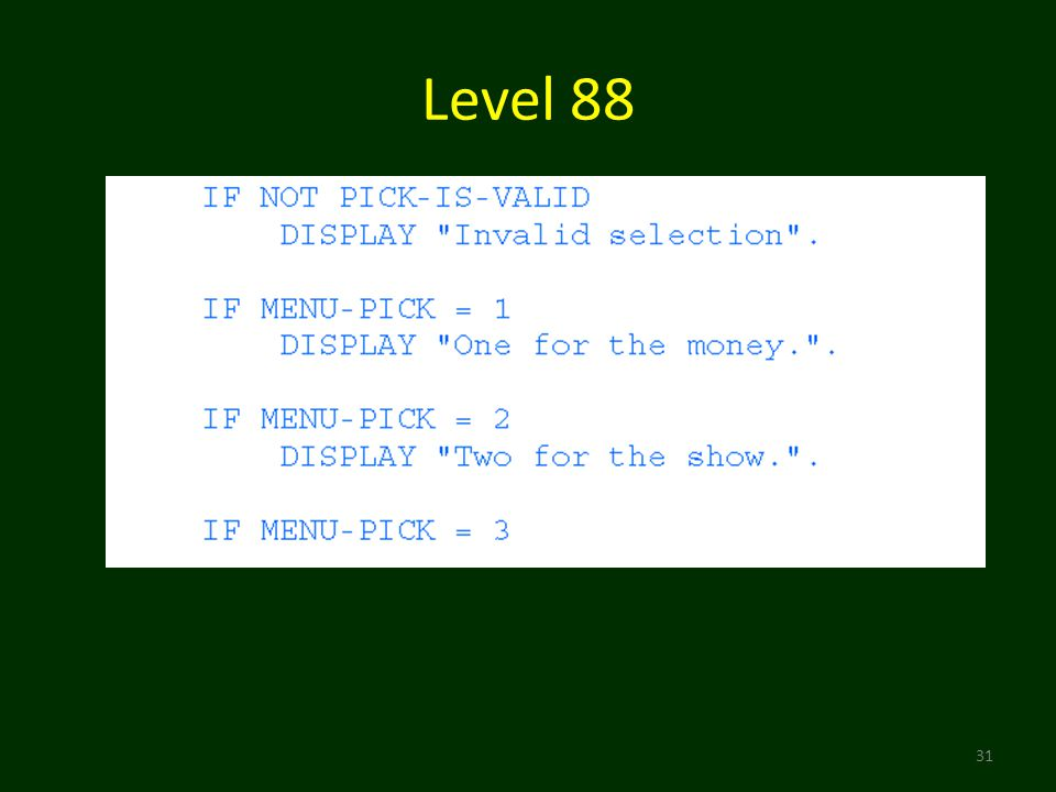 Level 88 31