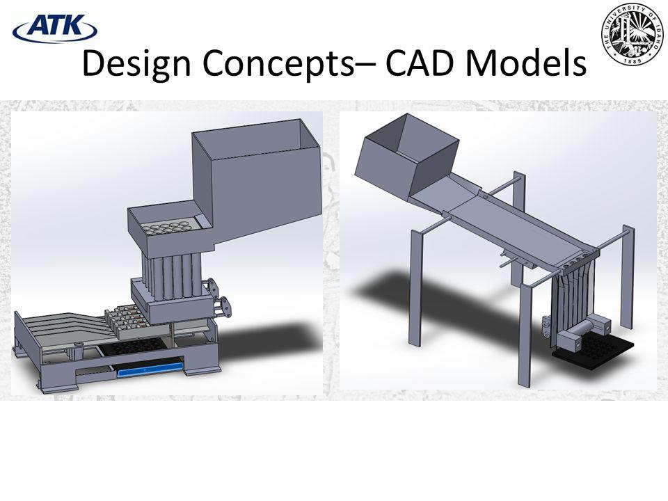 Design Concepts– CAD Models