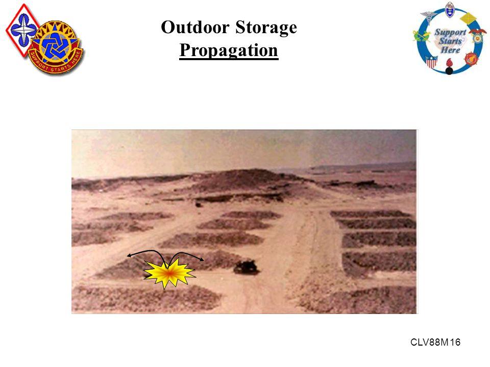 CLV88M 16 Outdoor Storage Propagation