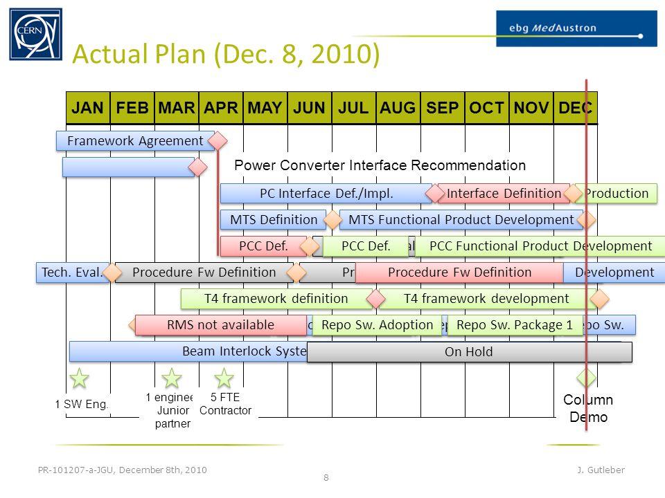 Actual Plan (Dec. 8, 2010) PR-101207-a-JGU, December 8th, 2010 J.