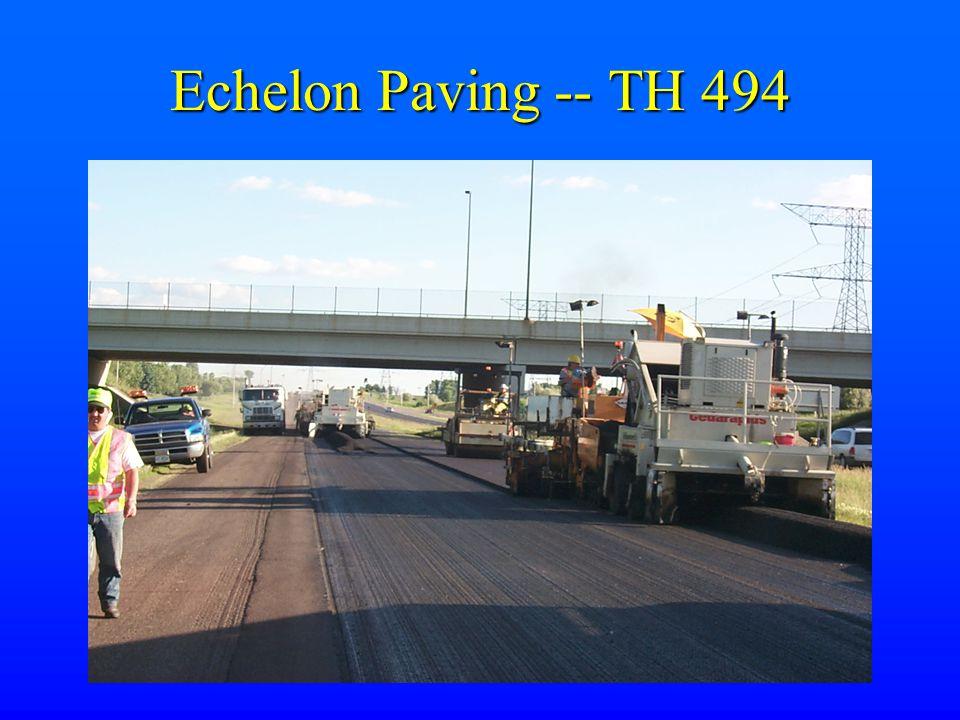 Echelon Paving -- TH 494