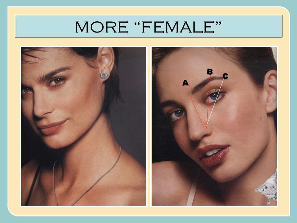 MORE MALE... OR MORE FEMALE?