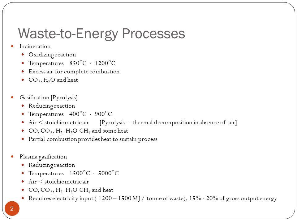 Plasma Gasification Furnace 3 (source: Zhang et al., 2012) (source: Zhang et al., 2013)