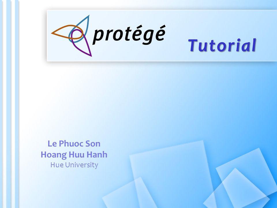 Tutorial Le Phuoc Son Hoang Huu Hanh Hue University