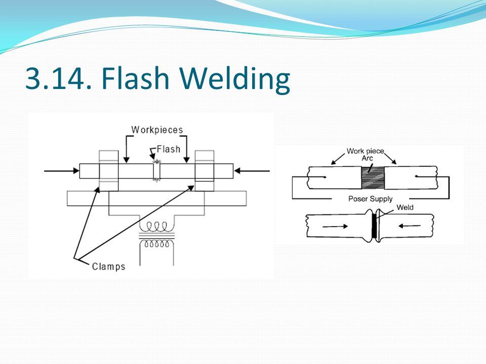 3.14. Flash Welding