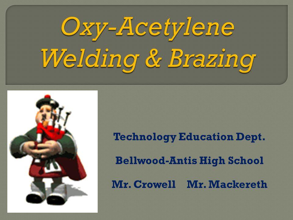 Technology Education Dept. Bellwood-Antis High School Mr. Crowell Mr. Mackereth