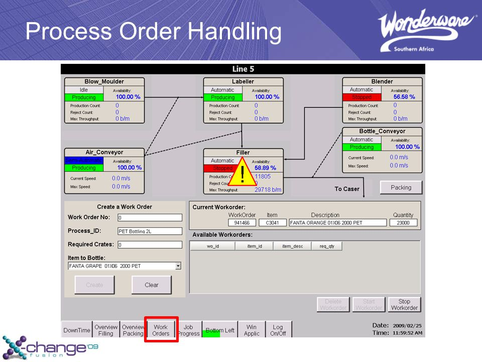 Process Order Handling
