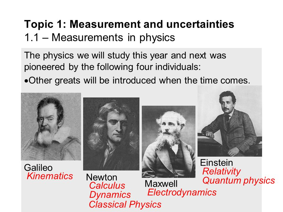 Physics has some of the most famous names in science.  If a poll were to be taken on who is the most famous scientist, other people might choose… Top
