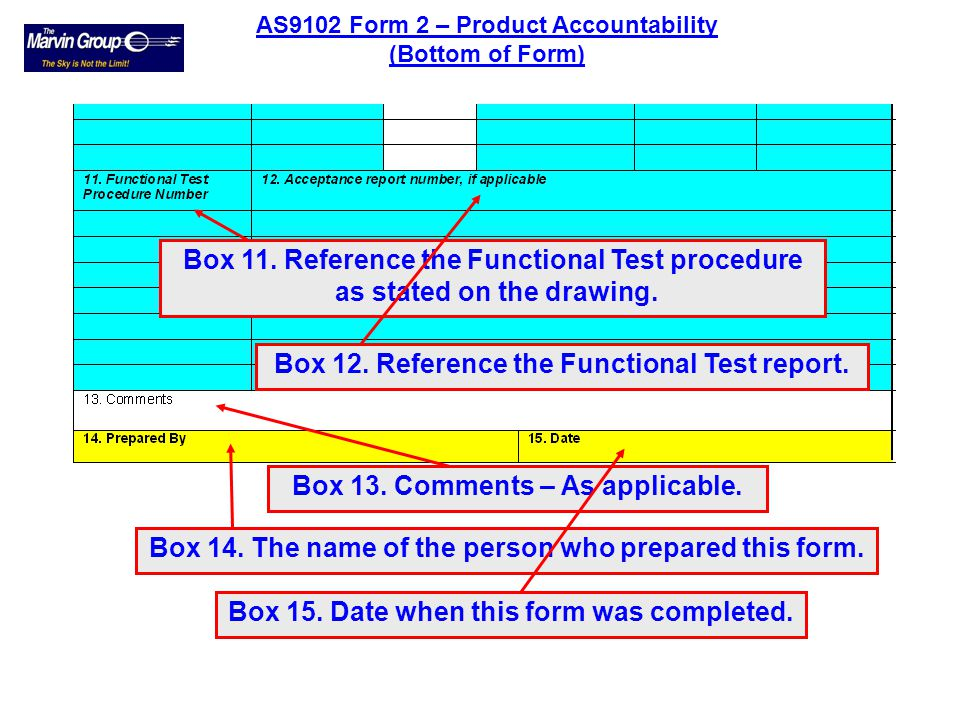 Box 8. Approved Sources Code Listed on ASL. Box 9. Indicate if technical approval is required by the customer. Box 10. Reference any Certificate of Co