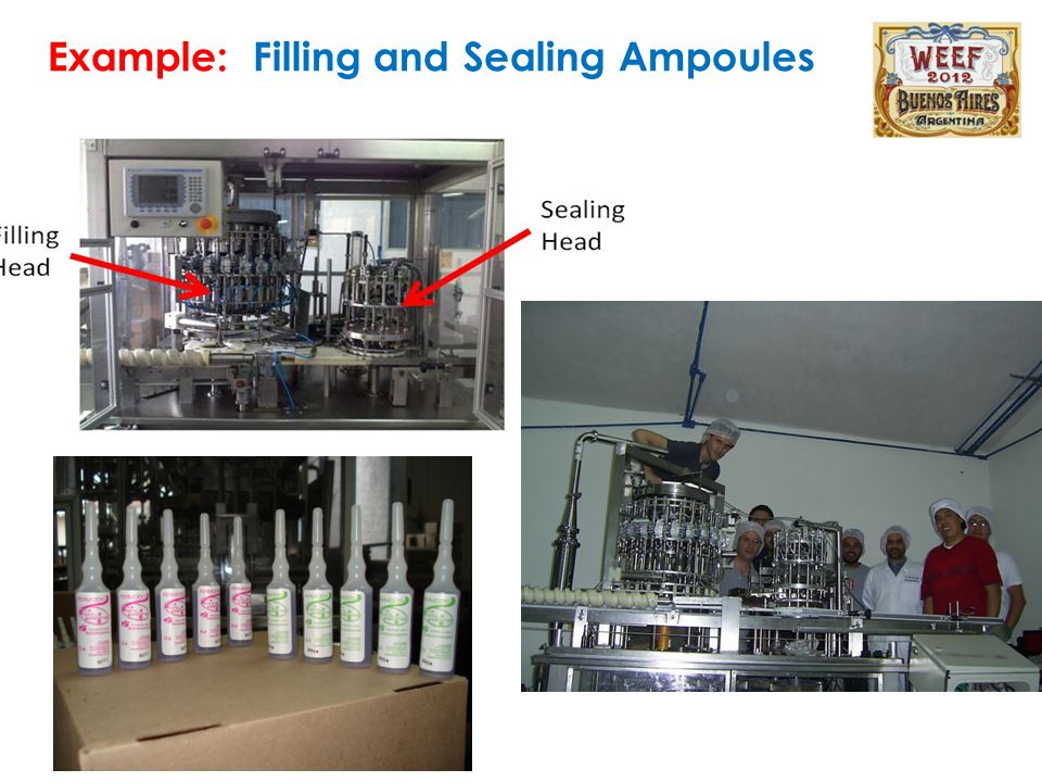 Example: Filling and Sealing Ampoules