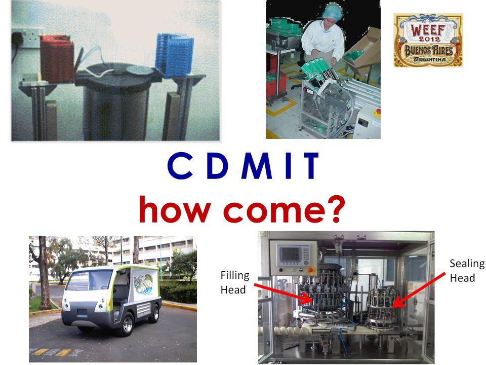 C D M I T how come